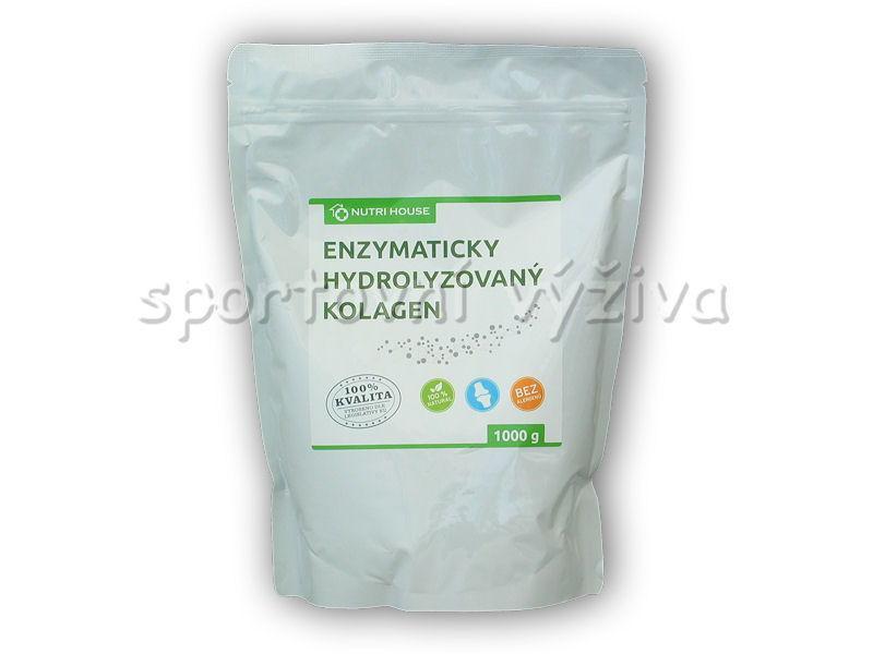 Nutri House Enzymaticky Hydrolyzovaný Kolagen 100% 1000g