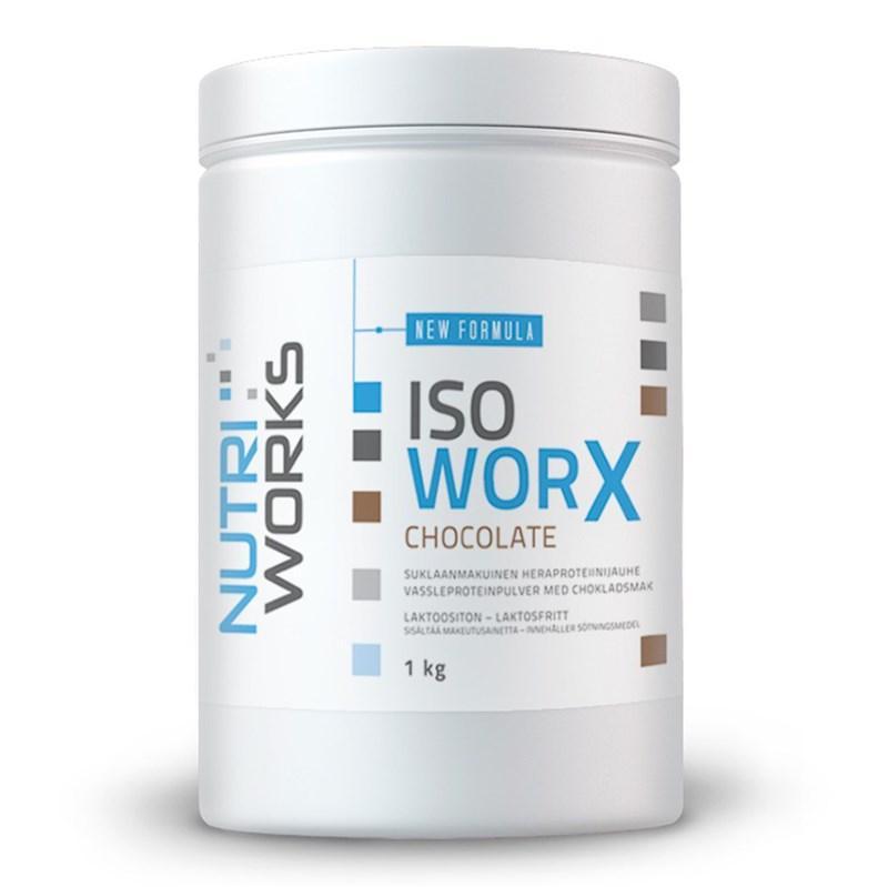 NutriWorks Iso Worx 1000 g - bez příchutě