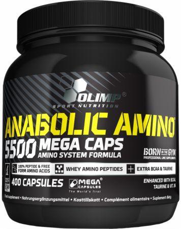 Olimp Anabolic Amino 5500 400 kapslí