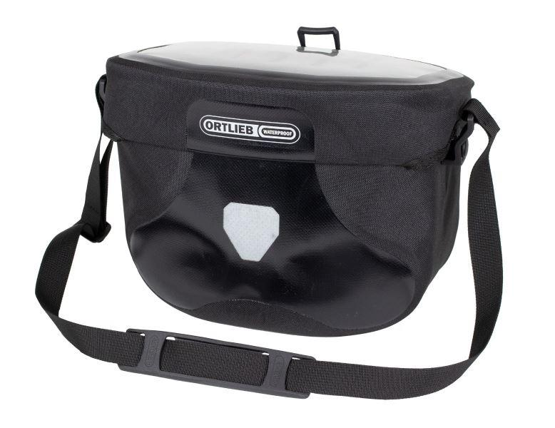 ORTLIEB Ultimate 6S 6,5L Free vodotěsná řidítková brašna - černá