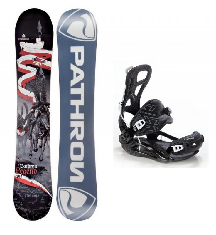 Pathron Legend snowboard + vázání Pathron Team XT fastec - 156 cm + L (EU 42-44)