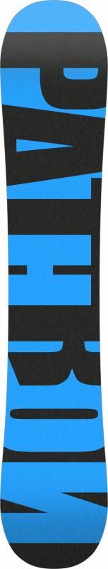 Pathron Powder Hero snowboard + nářadí zdarma - 160 cm mid-wide