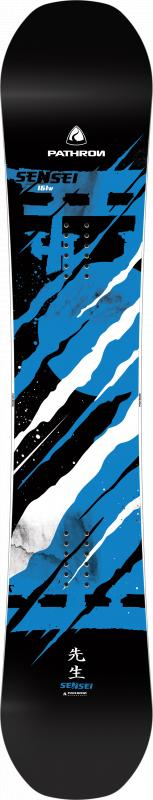 Pathron Sensei Blue 19/20 snowboard + nářadí zdarma - 160 cm