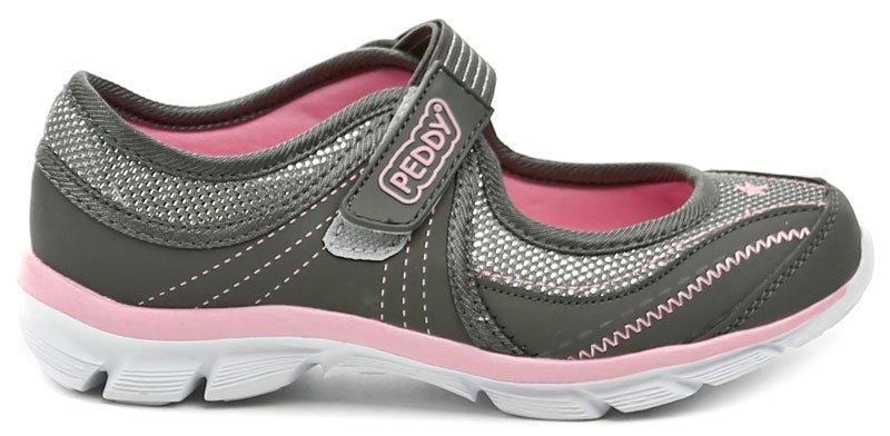 344ca48eec Zvětšit · Peddy PO-518-22-02 šedo růžová dívčí letní obuv dětská obuv ...