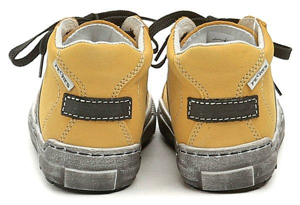 1c8df9eaf00d ... Pegres 1401 Elite žluté dětské botičky ...