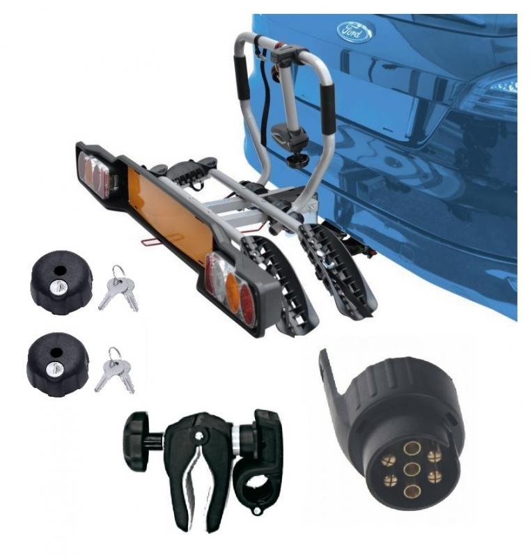 Peruzzo SIENA 2 kola nosič na tažné zařízení + 2x zámek nosiče + držák 1.kola + adaptér el. přípojky