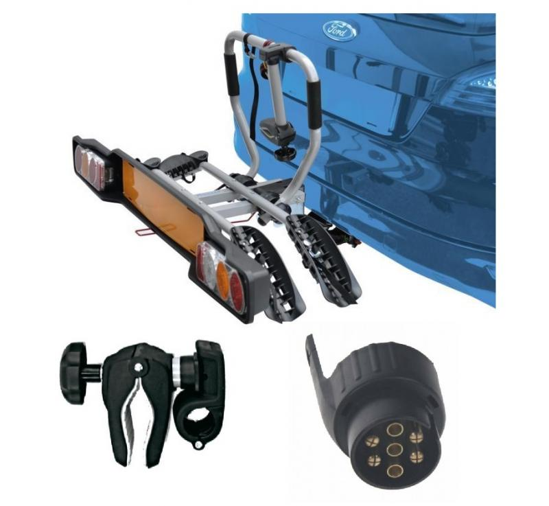 Peruzzo SIENA 2 kola nosič na tažné zařízení + držák 1.kola + adaptér el. přípojky