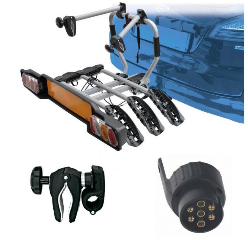 Peruzzo SIENA 3 kola nosič na tažné zařízení + držák 1.kola + adaptér el. přípojky