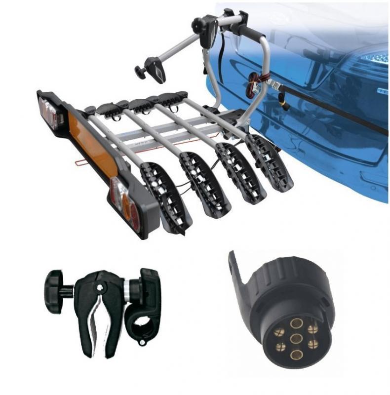 Peruzzo SIENA 4 kola nosič na tažné zařízení + držák 1.kola + adaptér el. přípojky