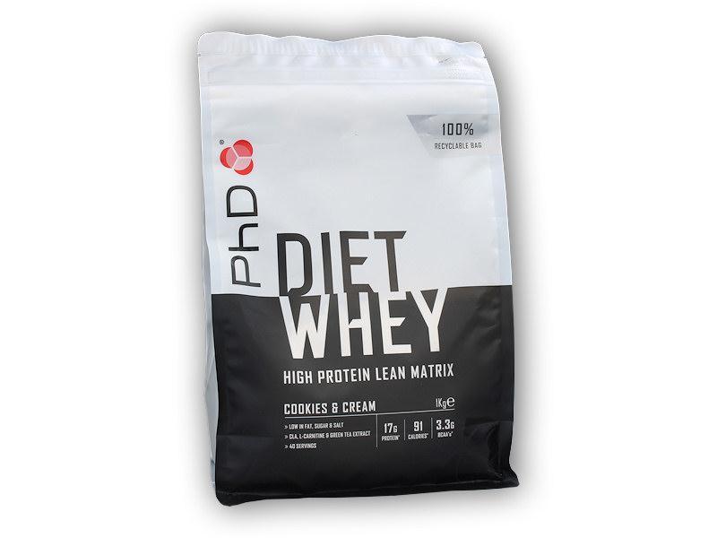 PhD Nutrition Diet Whey 1000 g - Cherry