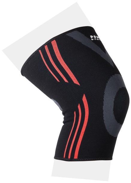 Power System Bandáže na kolena Knee Support Evo černo oranžové - L