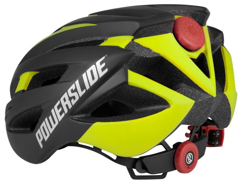 Powerslide Race Attack - žlutá, 50-54 cm
