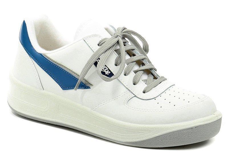 Prestige M86808 bílá nadměrná pracovní obuv - EU 48