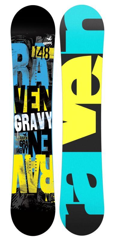 Raven Gravy 2019/20 snowboard + nářadí zdarma - 160 cm