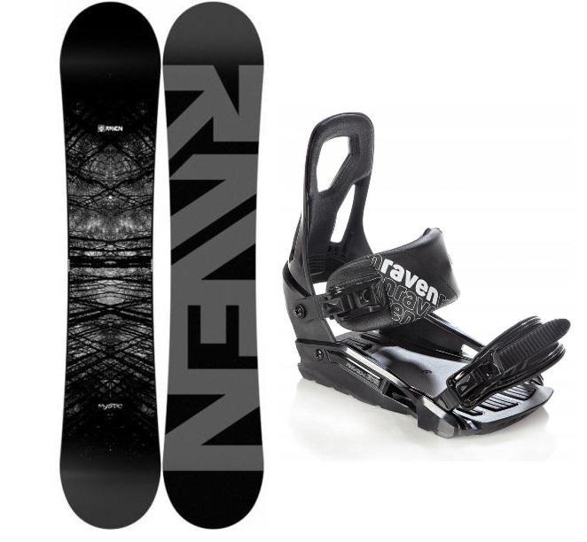 Raven Mystic snowboard + Raven S200 black vázání - 160 cm + S/M (EU 37-41)