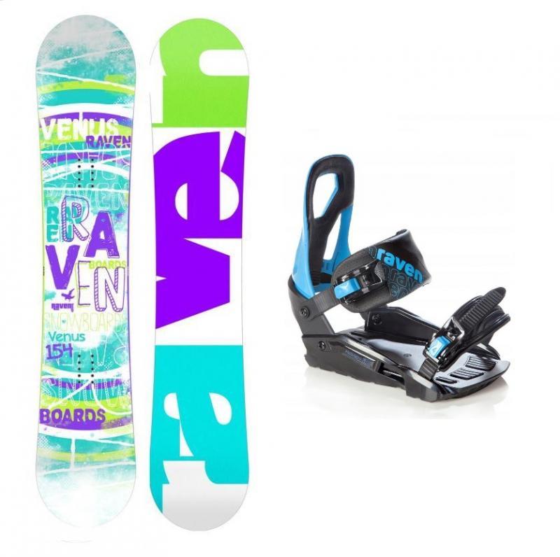 Raven Venus 2018 dámský snowboard + Raven S200 blue vázání - 144 cm + S/M (EU 37-41)