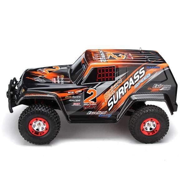 RC Auto Extreme-2 4WD RTR 1:12 - ORANŽOVÉ + Nanoprotech 75ml impregnace