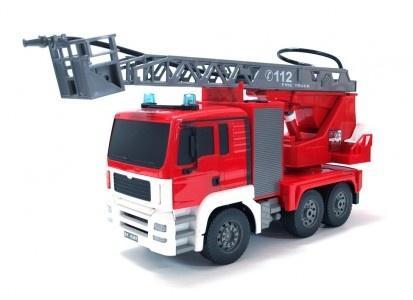 RCobchod RC hasiči MAN s opravdovým vodním dělem 2,4 GHz