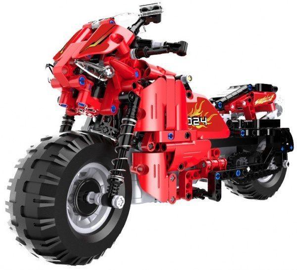 RC motorka- stavebnice na dálkové ovládání