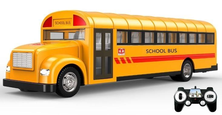 RC školní autobus s otvíracími dveřmi 33cm