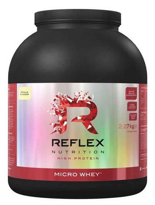 Reflex Nutrition Micro Whey Native 2270 g - čokoláda