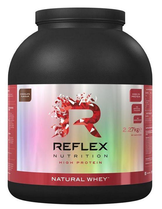 Reflex Nutrition Natural Whey 2270 g - jahoda