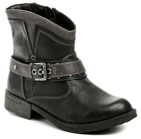 Reflexan 10450-02 černá dámská kotníčková obuv - EU 36