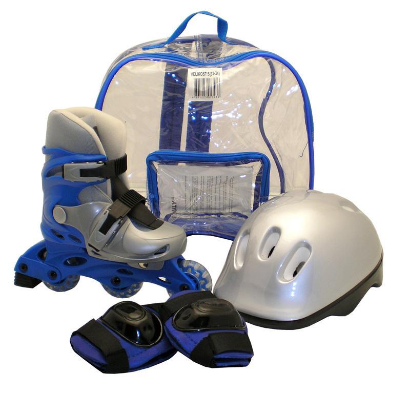 Truly Sada brusle + helma + chrániče 9.1 - M - EU 35-38