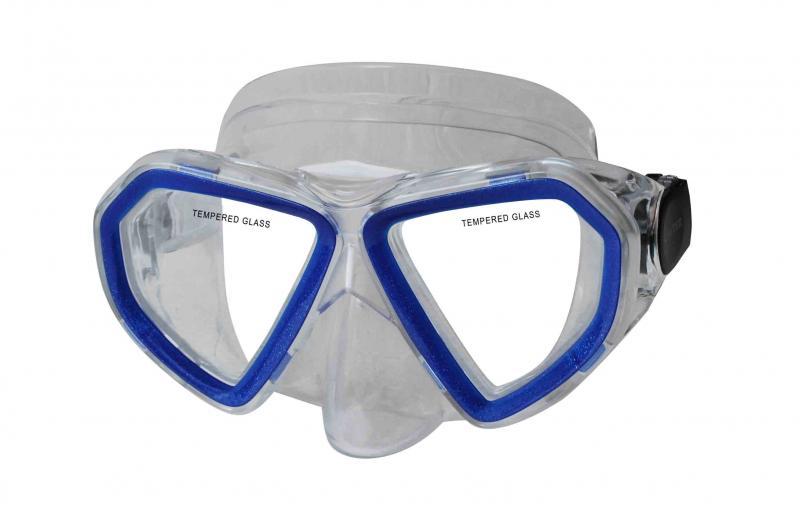 CALTER KIDS 285P, modrá Potápěčská maska