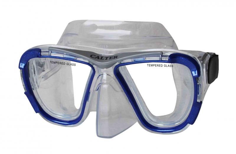 CALTER SENIOR 238P, modrá Potápěčská maska