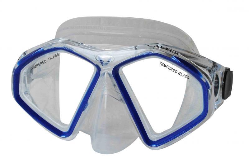 CALTER SENIOR 283S, modrá Potápěčská maska