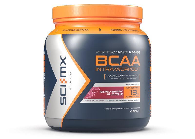 Sci-MX BCAA Intra Workout 480 g - lesní plody