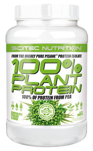 Scitec 100% Plant Protein 900 g - čokoláda - pralinka