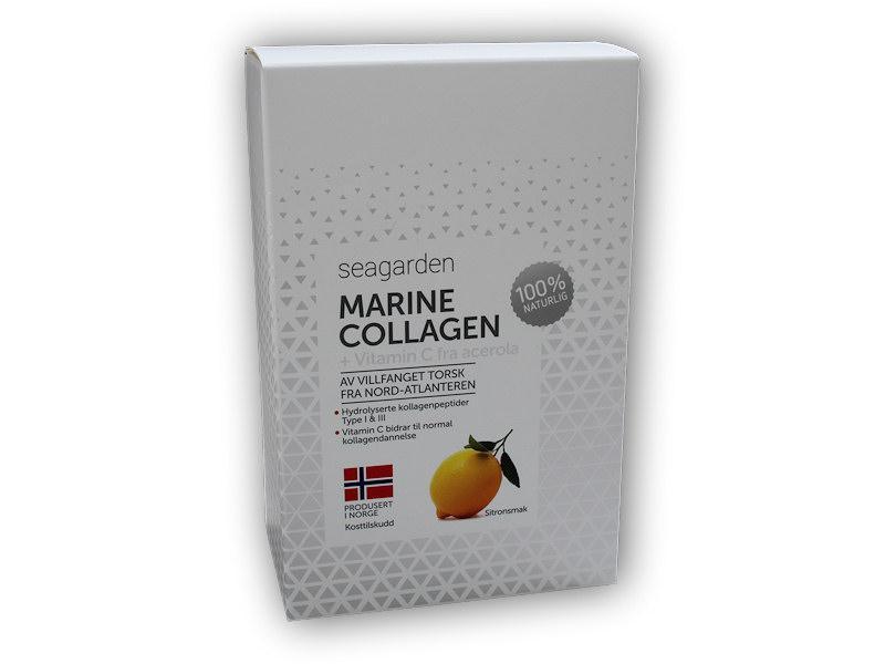 Seagarden Marine Collagen + Vitamin C 30x5g citron