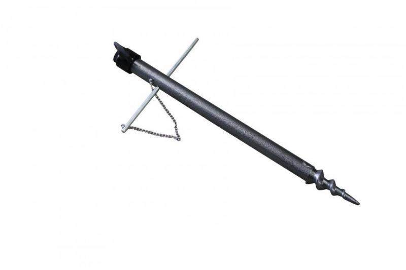 Sedco Držák na upevnění rybářského deštníku 38 cm - Černá