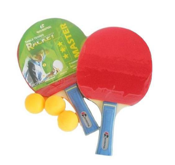 RICHMORAL Sada 2 Pálek na stolní tenis ***
