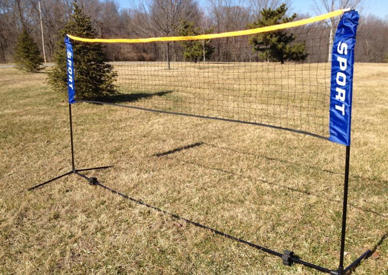 Sedco Síť na badminton se stojanem SPORT