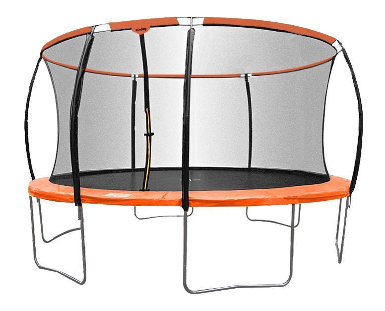Sedco PREMIUM 457 cm oranžová trampolína + síť