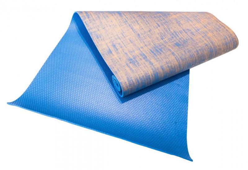 Sharp Shape Juta Yoga Mat Blue