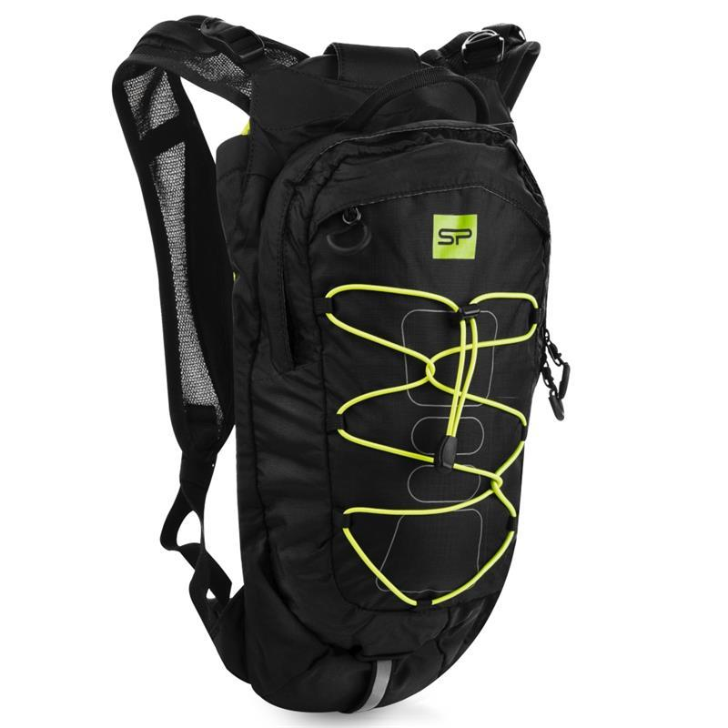 Spokey DEW Cyklistický a běžecký batoh 15 l, černo-žlutý