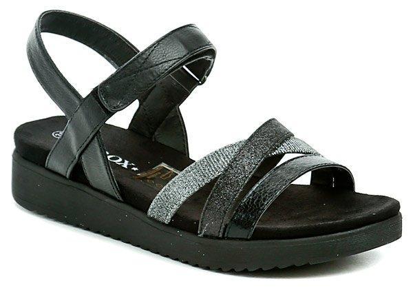 Sprox 317651 černé dámské sandály - EU 40