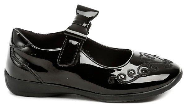 163fe8ea2e1 Zvětšit · Sprox 371051 černé dívčí balerínky dětská obuv ...
