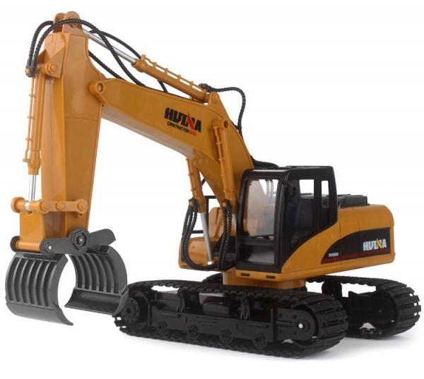 RCobchod Stavební stroj HN570 s kovovým drapákem RTR 1:14