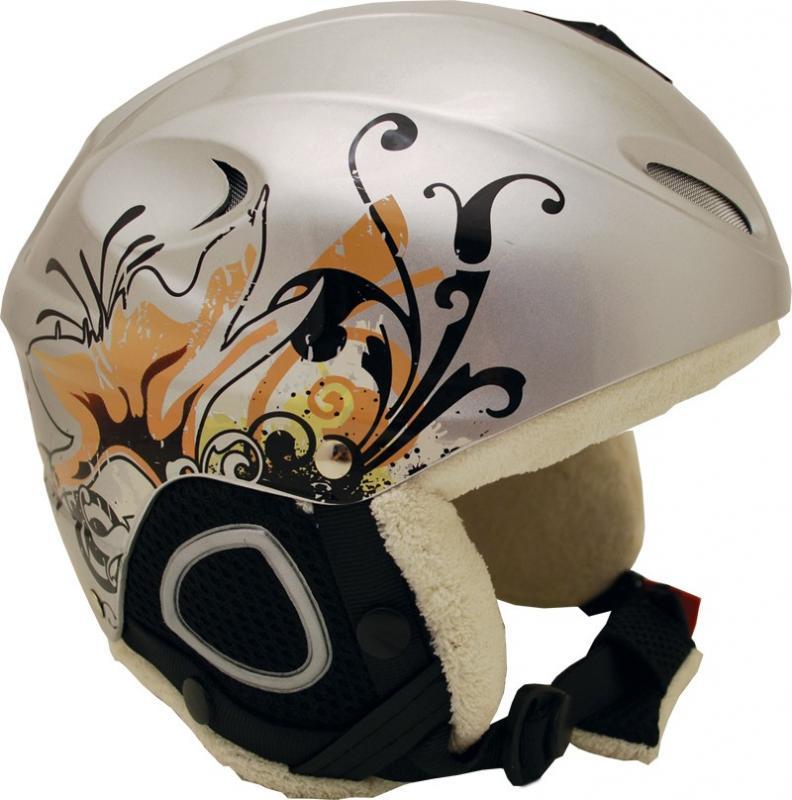 Sulov Break HS 616 stříbrná lyžařská helma - L - (58-59)cm
