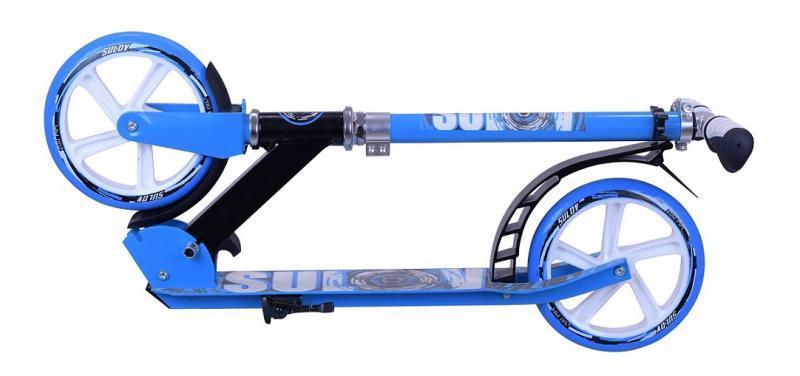 Sulov CIRCLE černo-modrá 200mm skládací alu koloběžka