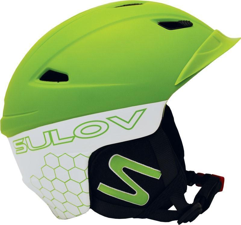 Levně Sulov Diavol HF002 zelená lyžařská helma - S (55-56 cm)