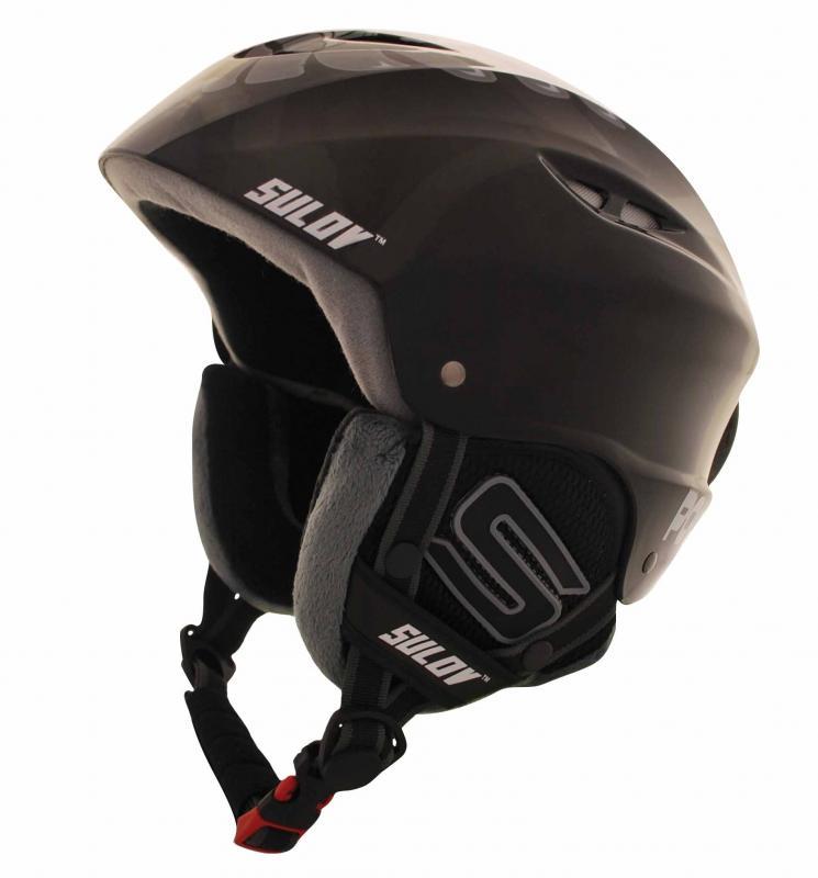 Sulov POWER černo-šedá lyžařská helma - L/XL (58-61 cm)
