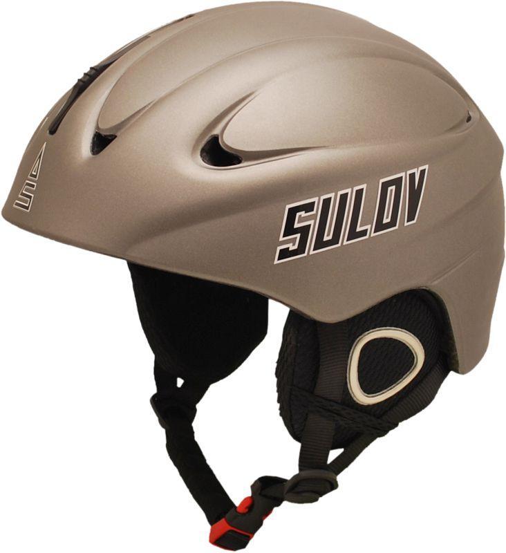 Sulov REVOLT stříbrná lyžařská helma - L 59-60 cm