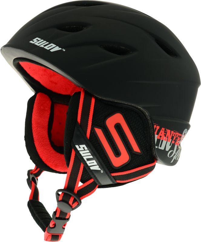 Sulov RIOT černá lyžařská helma - L/XL (58-61 cm)
