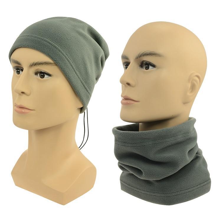 Sulov Multifunkční šátek 2v1 Fleece, šedý
